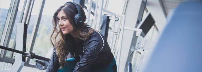 ventajas de entrenar con música